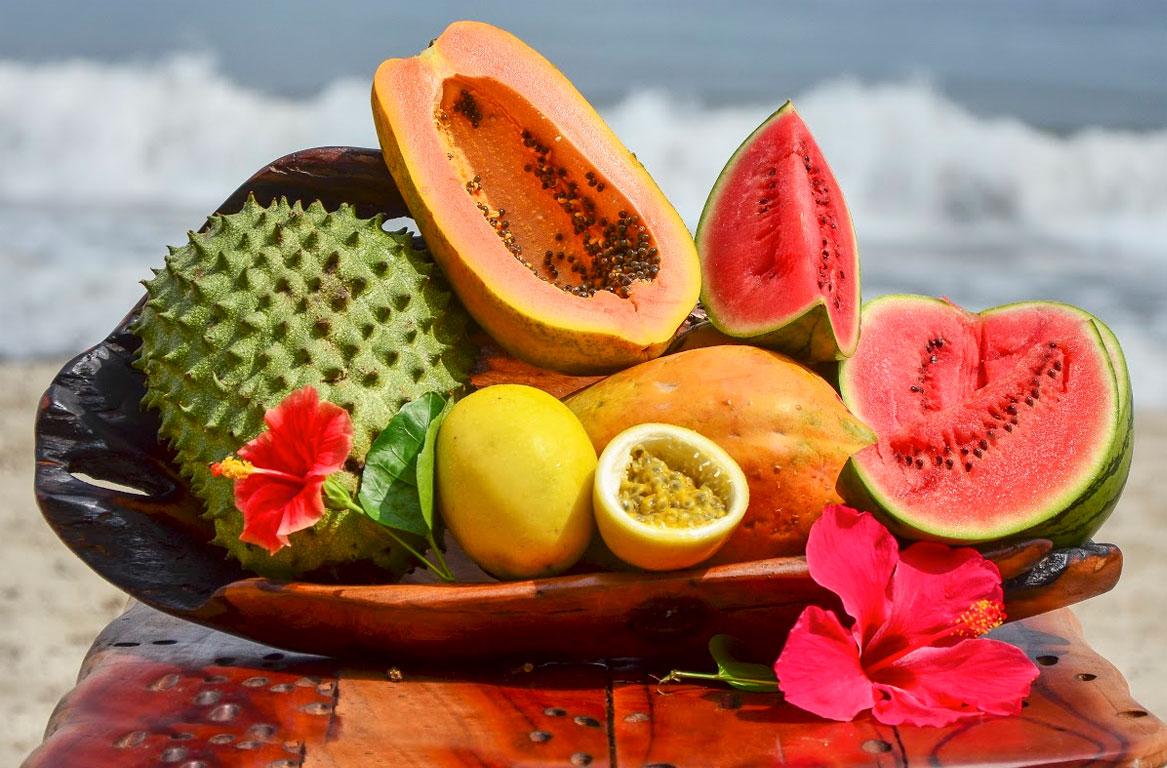 Las cinco frutas tropicales que encontrar s en playa la roca playa la roca - Frutas tropicales y exoticas ...